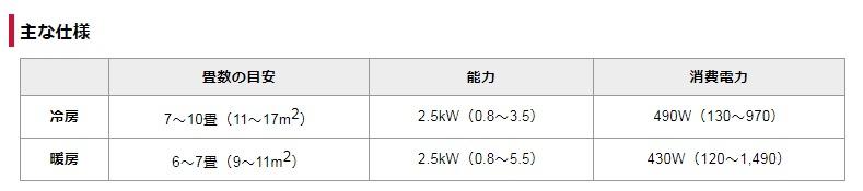FireShot Capture 167 - エアコン _ AS-V25W(2010年度Vシリーズ) - 富士通ゼネラル_ - https___www.fujitsu-general.com_jp